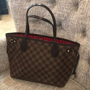 100% authentic Louis Vitton neverfull PM